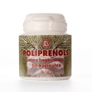 Poliprenoli (50 kapsulas)