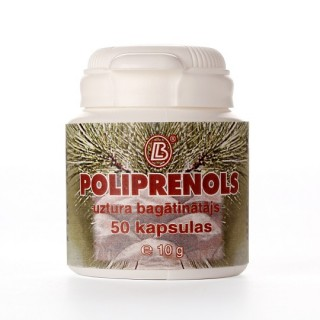 Poliprenoli (50 kapsulas) 10 g, BIOLAT