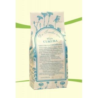 Veselības tēja CUKURA vielu maiņas sekmēšanai 57g, Dr.Tereško tējas