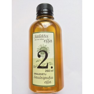 Salātu eļļa Nr.2 (no grauzdētām saulespuķu sēklām) 250ml, DUO AG
