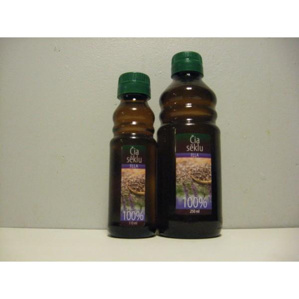 Čia sēklu eļļa 100% (110 ml), DUO AG