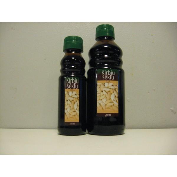Ķirbju sēklu eļļa 100% (110 ml), DUO AG