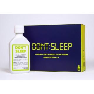 DON'T SLEEP (6X50ml), Inovatīvo biomedicīnas tehnoloģiju institūta ražotne FitoBalt