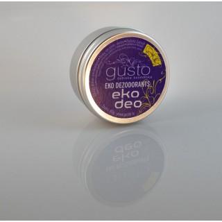 Eko dezodorants Eko deo 80g, Gusto dabiska kosmētika