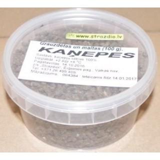 Kaņepju sēklas (grauzdētas un maltas) 100 g