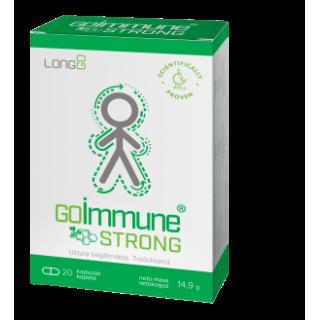 GoImmune STRONG (20 kapsulas) 14.9g, SILVANOLS