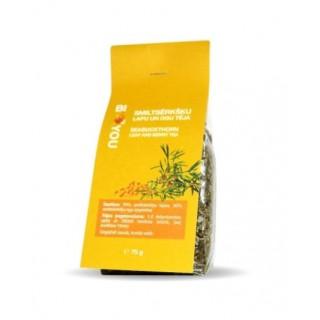 Smiltsērkšķu lapu-ogu tēja 75 g,  BIO2YOU