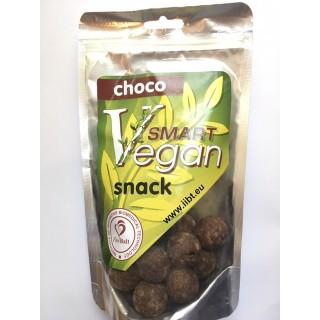 Smart Vegan Snack  CHOCO 170g, Inovatīvo biomedicīnas tehnoloģiju institūta ražotne FitoBalt