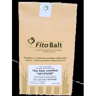 Tēja ādas veselībai ANTIPSOR 50g, Inovatīvo biomedicīnas tehnoloģiju ražotne FitoBalt