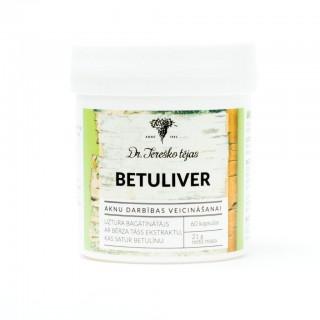 BETULIVER 60 kapsulas 250 mg, Dr. Tereško tējas