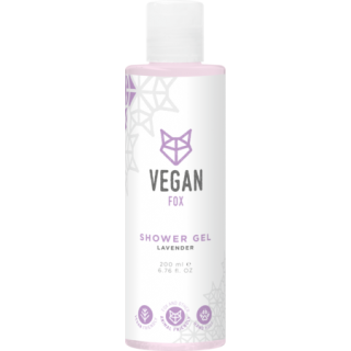 Lavandas dušas želeja 200ml, Vegan Fox