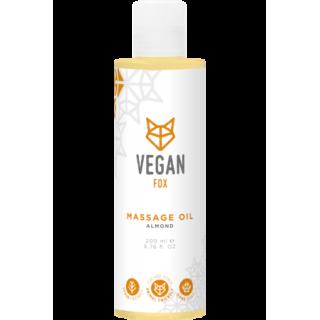 Mandeļu masāžas eļļa 200ml, Vegan Fox