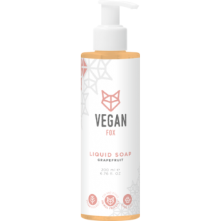 Greipfrūtu šķidrās ziepes 200ml, VEGAN FOX