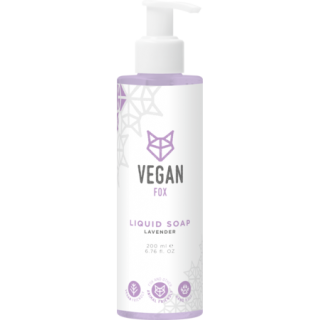Lavandas šķidrās ziepes 200ml, Vegan Fox