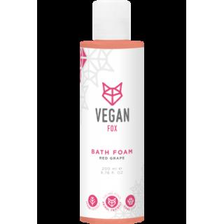 Sarkano vīnogu vannas putas 200ml, Vegan Fox