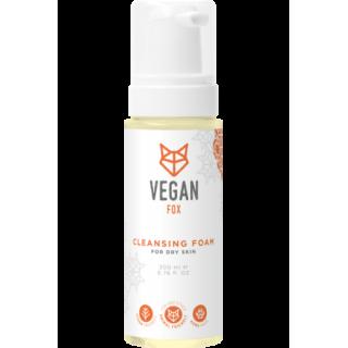 Attīrošas putas sausai ādai 200ml, Vegan Fox