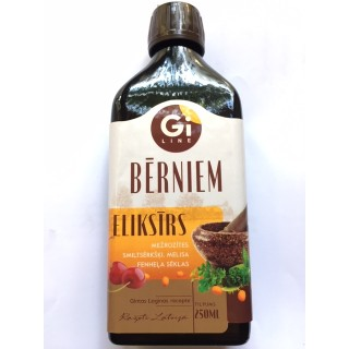 Eliksīrs Bērniem 250ml, SIA Giline for life