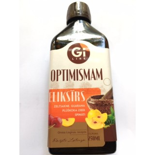 Eliksīrs Optimismam 250ml, SIA Giline for life