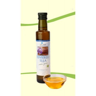 Linsēklu eļļa, auksti spiesta (250 ml)