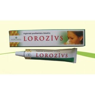 LOROZĪVS - mutes gļotādas un augšējo elpošanas ceļu iekaisumu profilakses līdzeklis