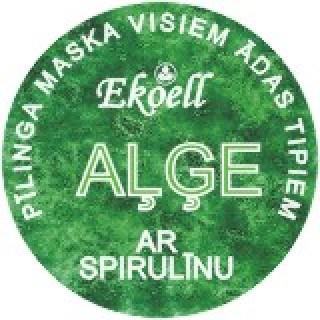 """Pīlinga maska """"AĻĢE"""" 65 g, Ekoell"""