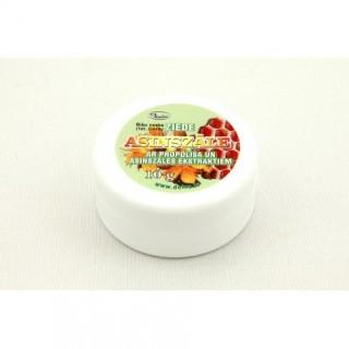 """Bišu vaska ziede """"Asinszāle"""" ar propolisa un asinszāles ekstraktu 10 g"""