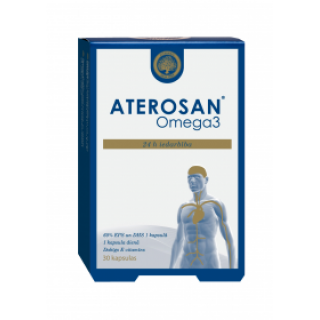 Aterosan  (30 kapsulas) 42 g, SILVANOLS
