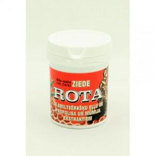 """Bišu vaska ziede """"Rota"""" ar smiltsērkšķu eļļu un propolisa un mūmija ekstraktiem 30 g"""