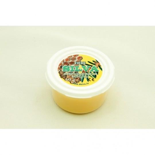 """Bišu vaska ziede """"Silva"""" ar propolisa ekstraktu un baltegļu eļļu 60 g"""