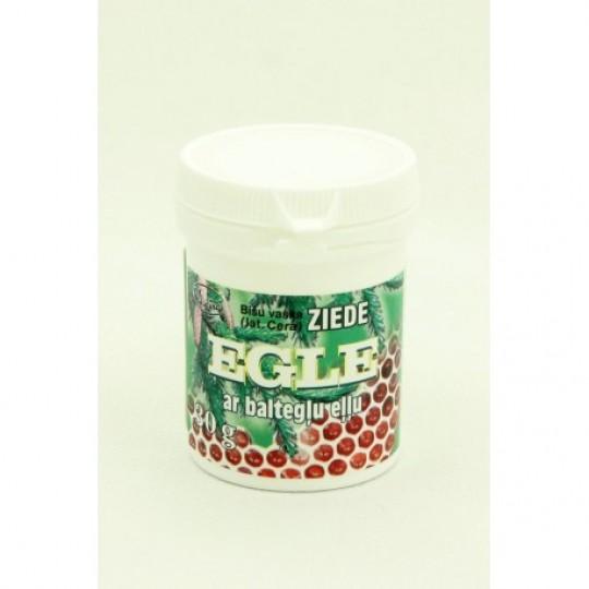 """Bišu vaska ziede """"Egle"""" ar baltegļu eļļu 30 g"""