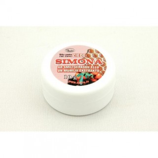 """Bišu vaska ziede """"Simona"""" ar smiltsērkšķu eļļu un mūmija ekstraktu 10 g"""