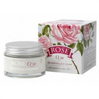 "Krēms sejai ""Rose Orginal'"" ar Q10 (50 ml), AKSO PLUS"