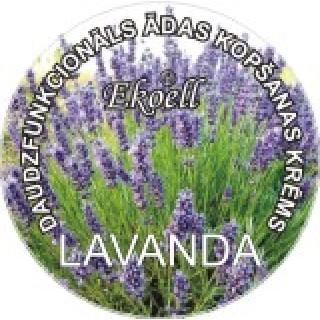 """Daudzfunkcionāls ādas kopšanas krēms """"LAVANDA"""" 40 g, Ekoell"""