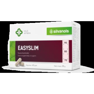 Easyslim - Uztura bagātinātājs (60 kapsulas), 28g,  Silvanols