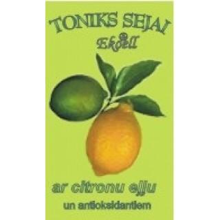 Toniks sejai ar citrona eļļu