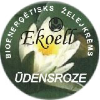 Bioenerģētisks dienas želejkrēms Ūdensroze 40 g, Ekoell