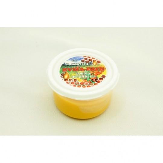 """Bišu vaska ziede """"Evija-Bite"""" ar medu un smiltsērkšķu eļļu 105 g"""