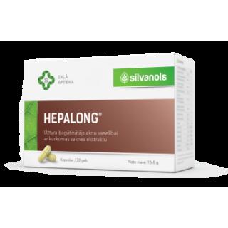 Hepalong  (30 kapsulas) 16 g, SILVANOLS