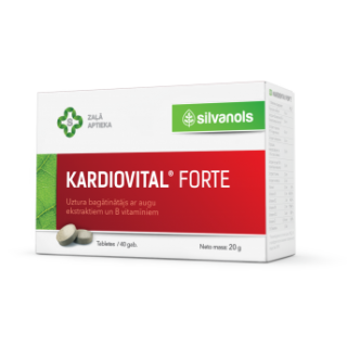 Kardiovital forte 20 g, SILVANOLS
