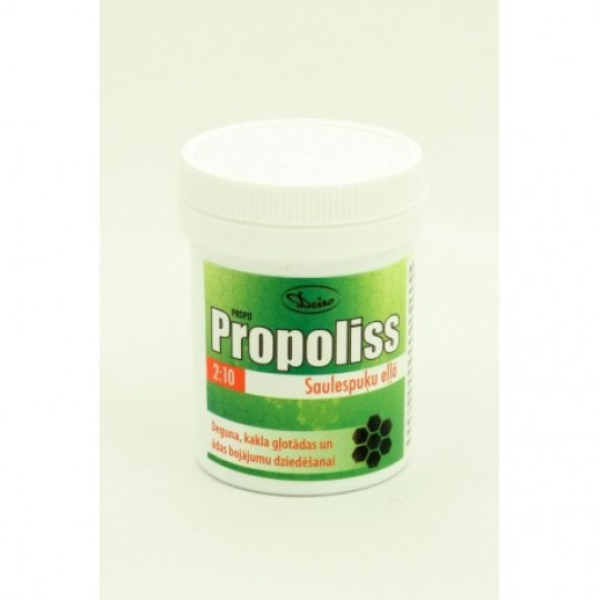 Propoliss saulespuķu eļļā Propo liniments 30 g