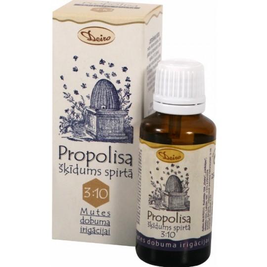 """Propolisa šķīdums spirtā pilieni """"Bitīte"""" (3:10) 25 ml"""