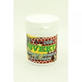 """Bišu vaska ziede """"Sveķu"""" ar propolisa ekstraktu un egļu sveķiem 30 g"""