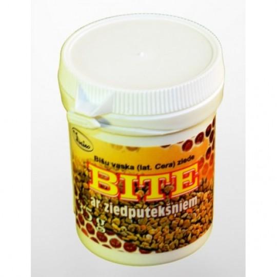 """Bišu vaska ziede """"Bite"""" ar ziedputekšņiem 35 g"""
